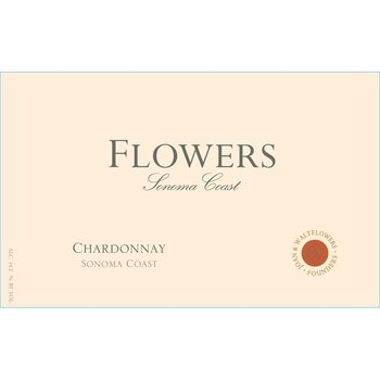 Flowers Sonoma Chardonnay 2017 Sonoma, California<br /> 91pts-WE