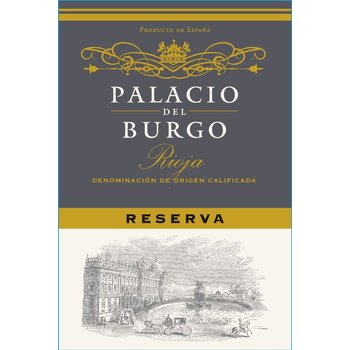 Palacio Palacio Del Burgo Rioja Reserva 2014 <br /> Rioja,Spain<br /> 93pts-WS