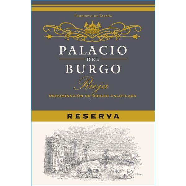 Palacio Palacio Del Burgo Rioja Reserva 2016<br /> Rioja,Spain<br /> 93pts-WS