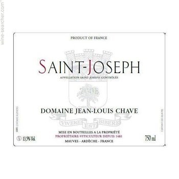 Chave Domaine Jean-Louis Chave Saint-Joseph 2013  <br /> Rhone, France  <br /> 93pts-WS & V