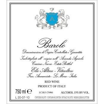 Elio Perrone Elio Altare Barolo 2013<br /> Piedmont, Italy<br /> 93pts-WS, 92pts-WA
