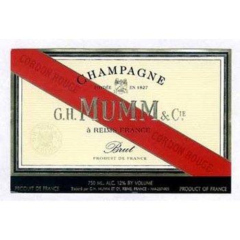 Mumm G.H. Mumm Grand Cordon Brut Champagne<br />Champagne, France<br />92pts-WS