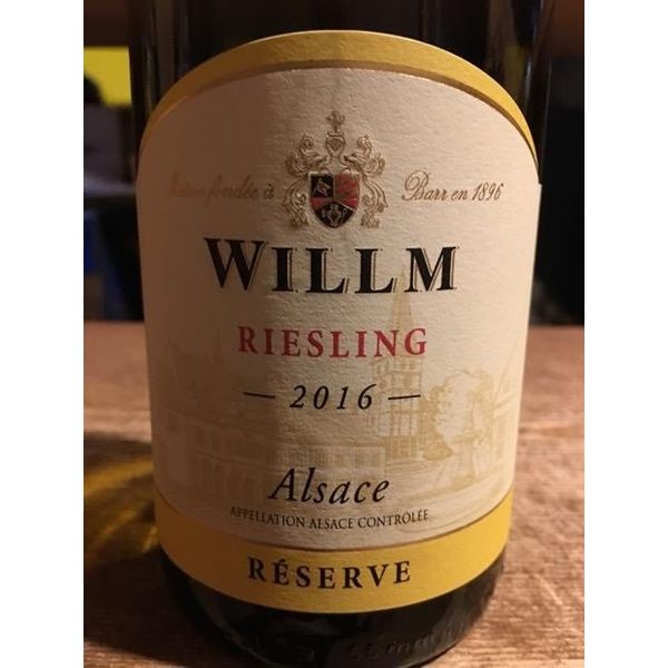 Willm Reserve Riesling 2018<br /> Alsace, France