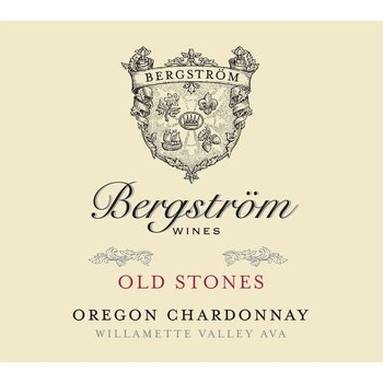 Bergstrom Old Stone Chardonnay 2015 <br /> Willamette Valley, Oregon<br /> 94pts-WE