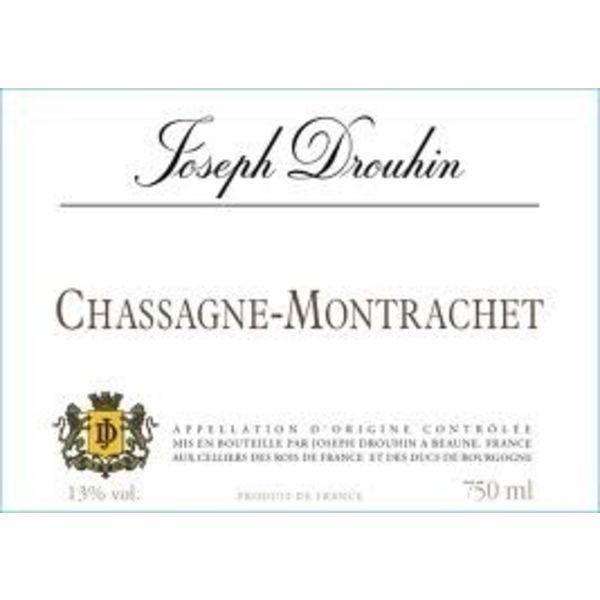 Drouhin Joseph Drouhin Chassagne-Montrachet Blanc 2018<br /> Burgundy, France<br /> 92pts-JS