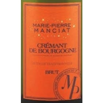Marie-Pierre Manciat Cremant De Bourgonne Brut NV<br /> Burgundy, France