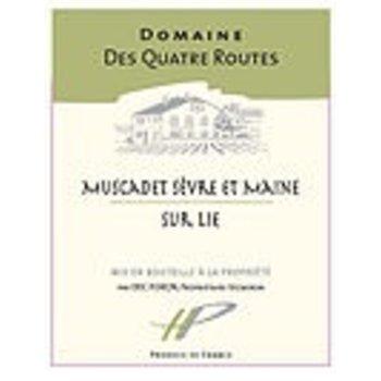 Domaine Des Quarte Routes Muscadet 2016<br /> Loire, France