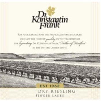 Dr. Konstantin Frank Dr. Konstantin Frank Dry Riesling 2016  <br /> Finger Lakes, New York  <br /> 90pts-WA