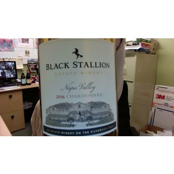 Black Stallion Winery Chardonnay 2016<br /> Napa Valley, California<br /> 92pts-JS
