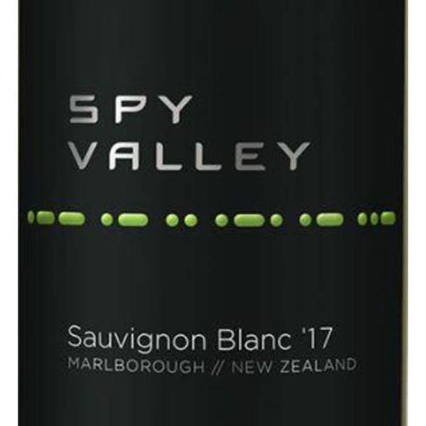 Spy Valley Wines Sauvignon Blanc 2019<br /> Marlborough, New Zealand<br /> 91pts-WE, 90pts-WS