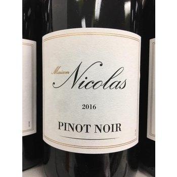 Maison Nicolas Maison Nicolas Pinot Noir 2017<br /> Languedoc, France