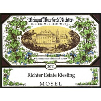 Richter Weingut Max Ferd. Richter Estate Riesling 2017  <br /> Mosel, Germany