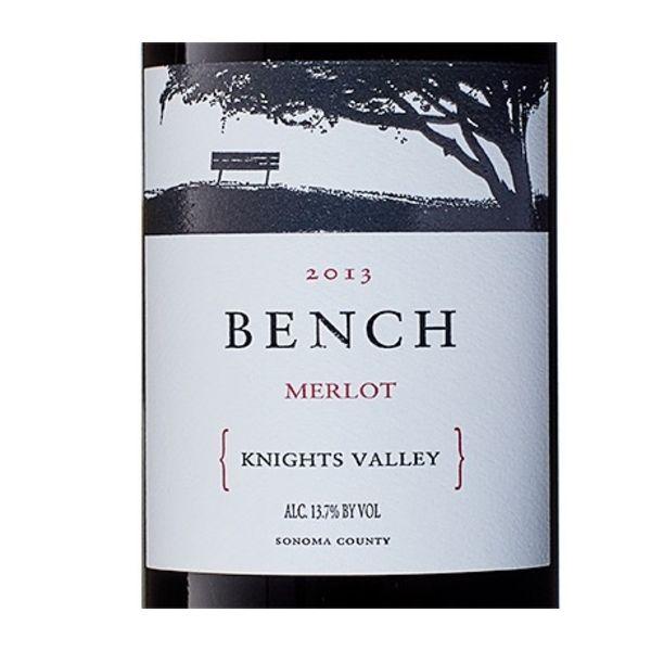 Bench Bench Merlot 2017 <br /> Sonoma, California