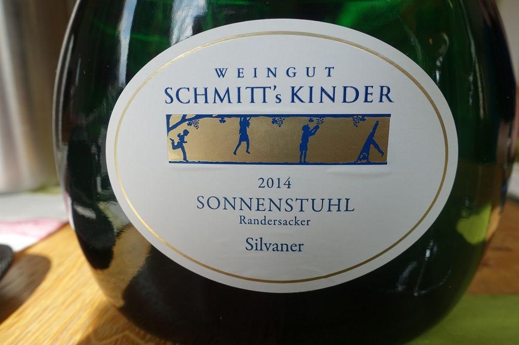 Kinder Sonnenstuhl.Weingut Schmitt S Kinder Sonnenstuhl Randersacker Silvaner 2015 Franken Germany