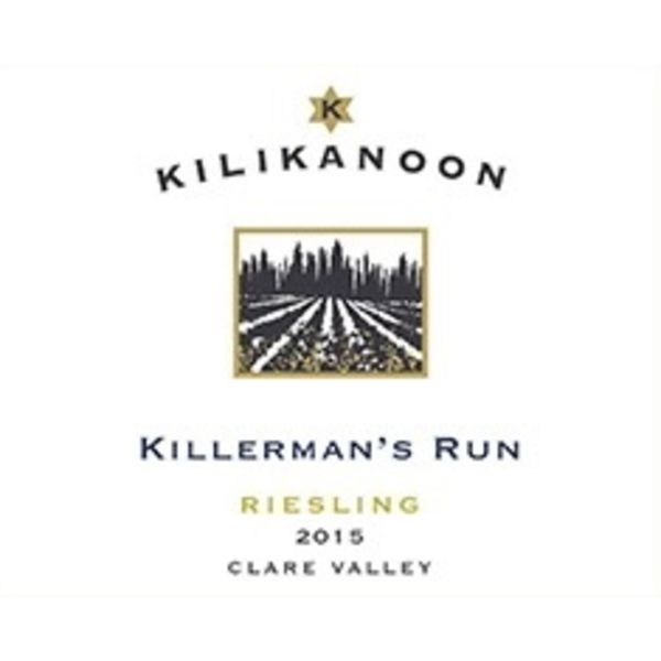 Kilikanoon Killerman's Run Riesling 2015<br /> Clare Valley, Australia<br /> 92pts-WS, & WE<br /> #73 Wine Enthusiast Top 100 of 2017