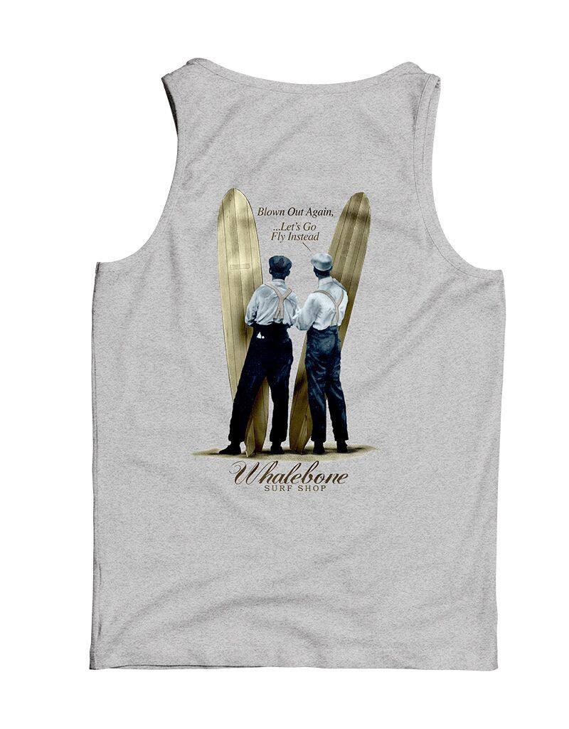 Whalebone Logo WRIGHT BROS DESIGN TANK TOP