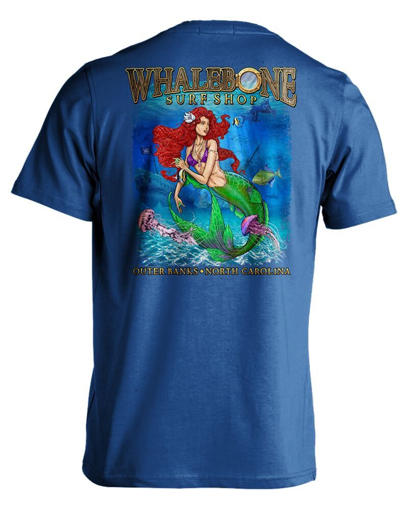 Whalebone Logo PORTHOLE MERMAID SHORT SLEEVE TEE