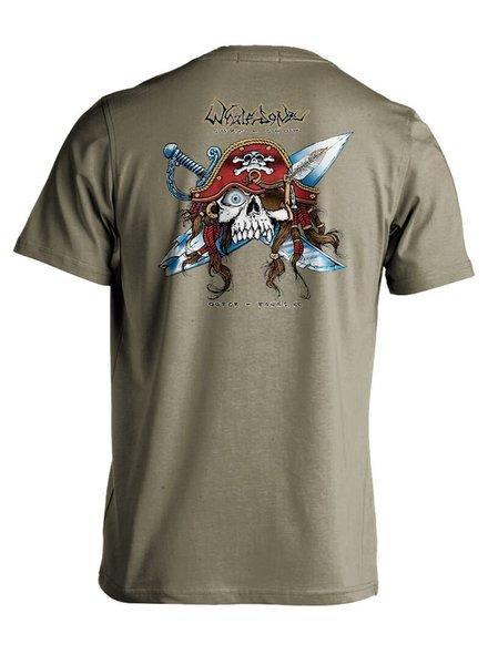 Whalebone Logo GNARLY PIRATE PREMIUM SHORT SLEEVE TEE
