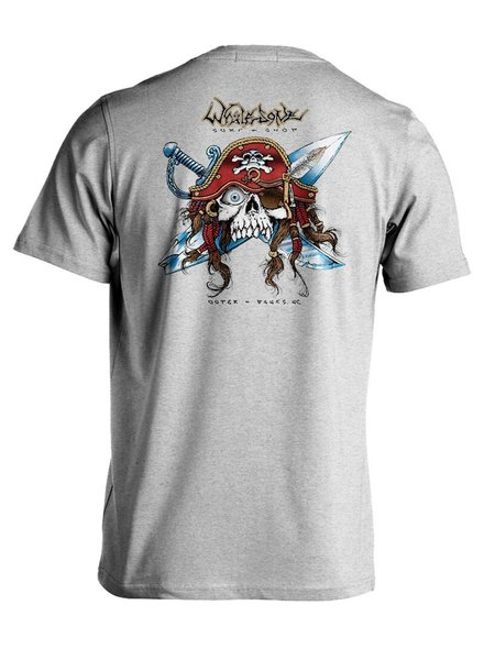 Whalebone Logo GNARLY PIRATE SHORT SLEEVE TEE