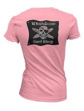 Whalebone Logo WOMENS SUGAR SKULL BOYFRIEND SHORT SLEEVE TEE
