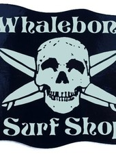 Whalebone Logo LOGO STICKER - WHALEBONE SURF SHOP LARGE GLOW