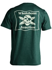 Whalebone Logo WHALEBONE JUNCTION GLOW PREMIUM SUEDED SHORT SLEEVE TEE