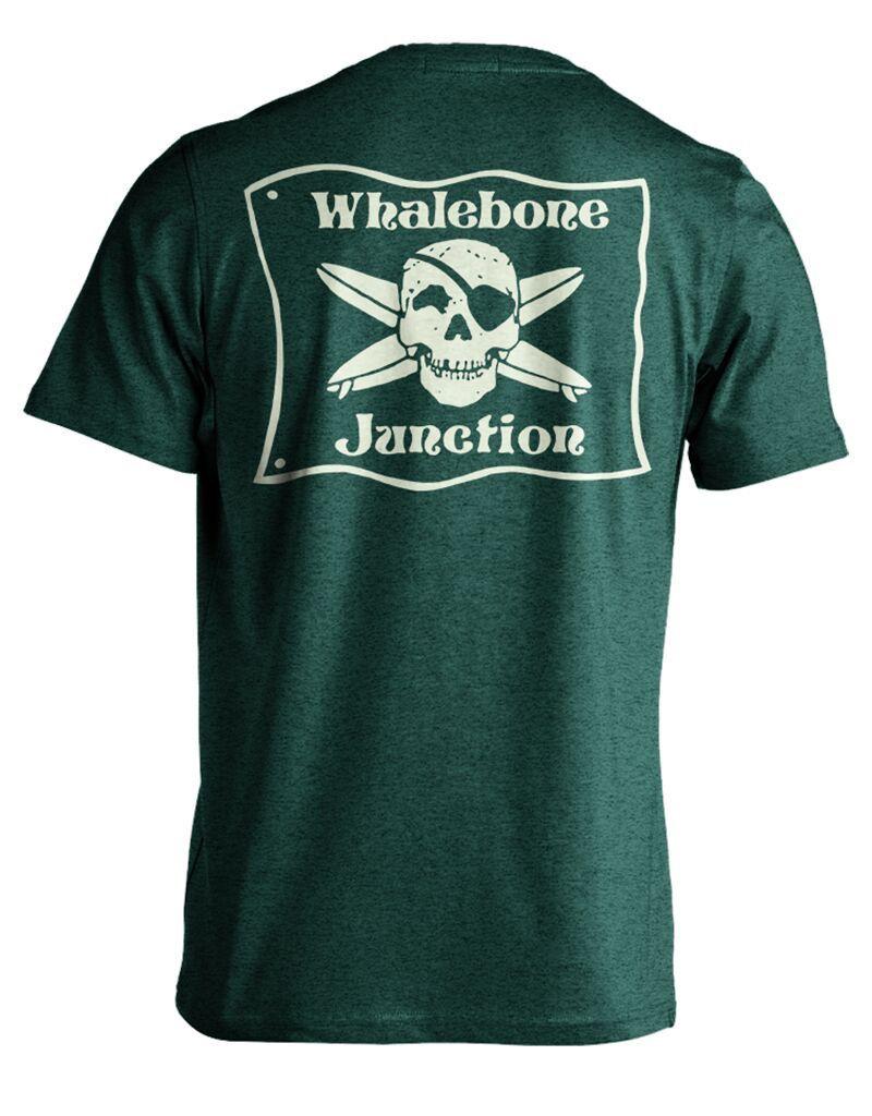 Whalebone Logo WHALEBONE JUNCTION GLOW PREMIUM SUEDED SHORT SLEEVE TEE