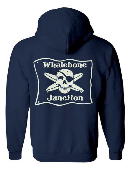 Whalebone Logo WHALEBONE JUNCTION GLOW ZIP UP HOODIE