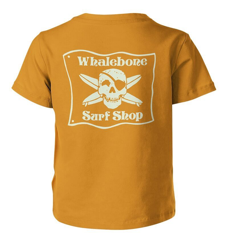 Whalebone Logo KIDS WHALEBONE SURF SHOP GLOW PREMIUM SHORT SLEEVE TEE