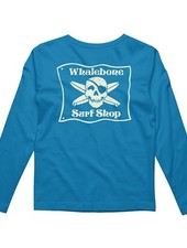 Whalebone Logo KIDS * WHALEBONE SURF SHOP GLOW LONG SLEEVE TEE
