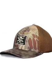 Whalebone Logo LOGO HAT - AIRMESH R-FLEX STRUCTURED PRE-CURVED CAP