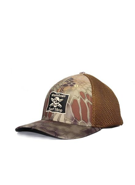 Whalebone Logo LOGO HAT - AIRMESH R-FLEX STRUCTURED PRE-CURVED CAP