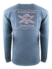 Whalebone Logo *WHALEBONE JUNCTION PNKGLO INSPIRED DYE LONG SLEEVE TEE