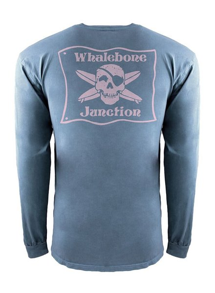 Whalebone Logo *WHALEBONE JUNCTION PNKGLO INSPIRED DYE LONG SLEEVE TEE