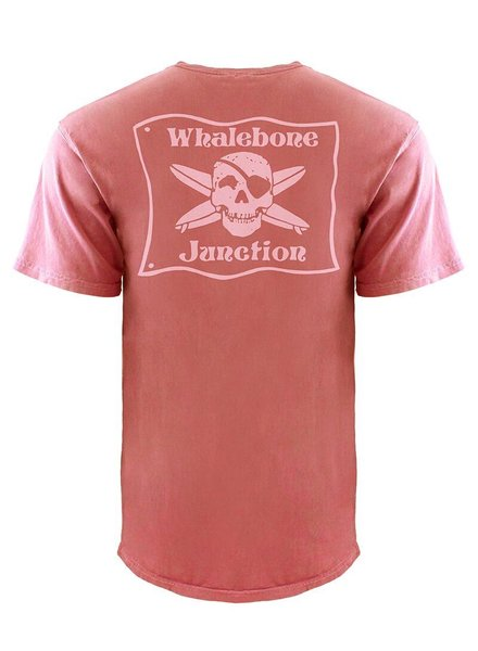 Whalebone Logo *WHALEBONE JUNCTION PNKGLO INSPIRED DYE SHORT SLEEVE TEE