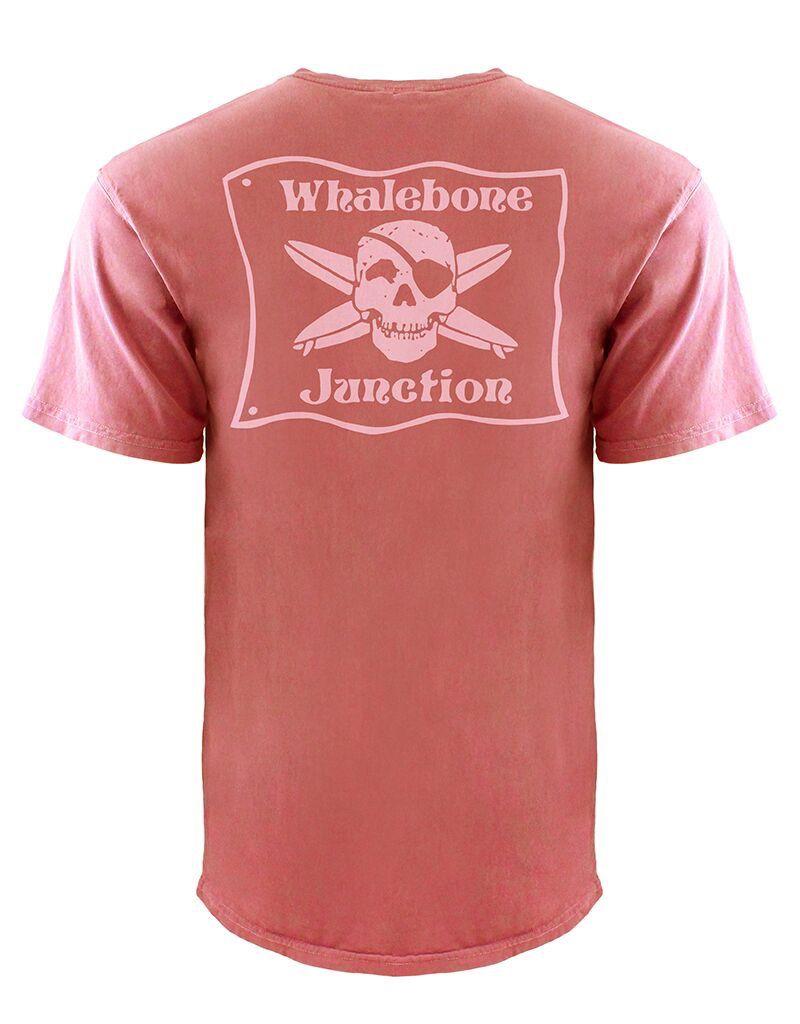 Whalebone Logo WHALEBONE JUNCTION PNKGLO INSPIRED DYE SHORT SLEEVE TEE