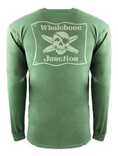 Whalebone Logo *WHALEBONE JUNCTION GLOW INSPIRED DYE LONG SLEEVE TEE