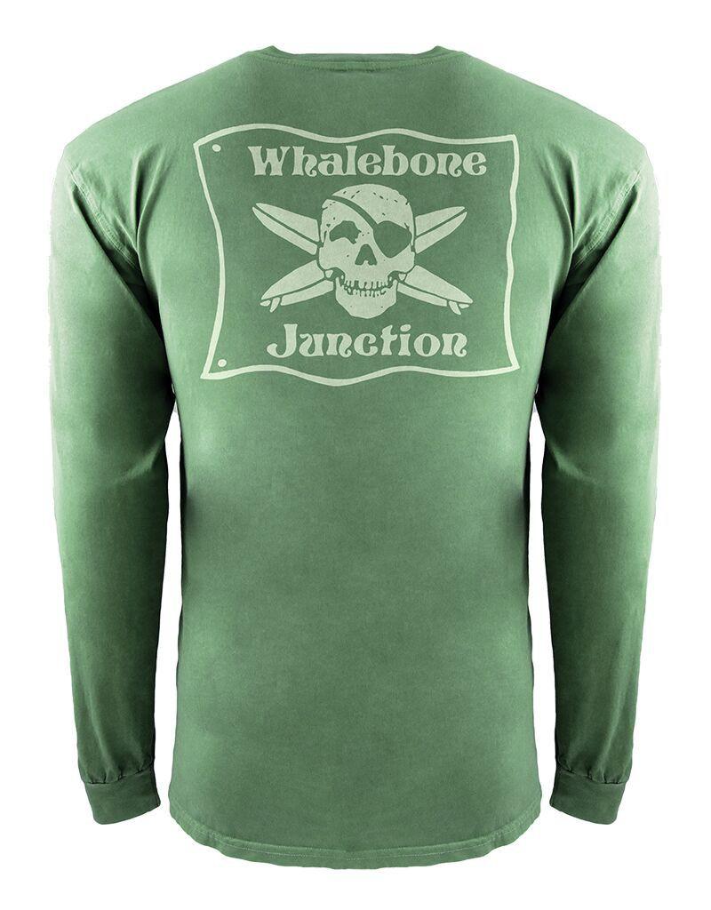 Whalebone Logo WHALEBONE JUNCTION GLOW INSPIRED DYE LONG SLEEVE TEE