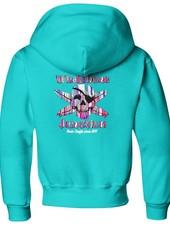 Whalebone Logo KIDS RESIN DRIP JERZEE BLEND PULLOVER HOODIE