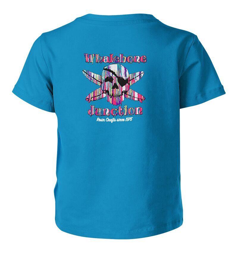 Whalebone Logo KIDS RESIN DRIP PREMIUM SHORT SLEEVE TEE