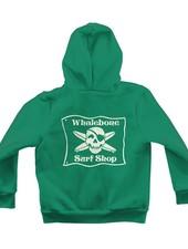 Whalebone Logo LITTLE KIDS WHALEBONE SURF SHOP GLOW PULLOVER HOODIE