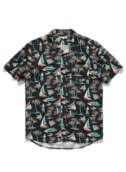 Mens Sportswear BANKS JOURNAL LEI LEI WOVEN