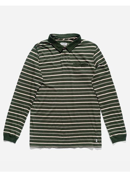 Mens Sportswear BANKS JOURNAL HELLO POLO LS