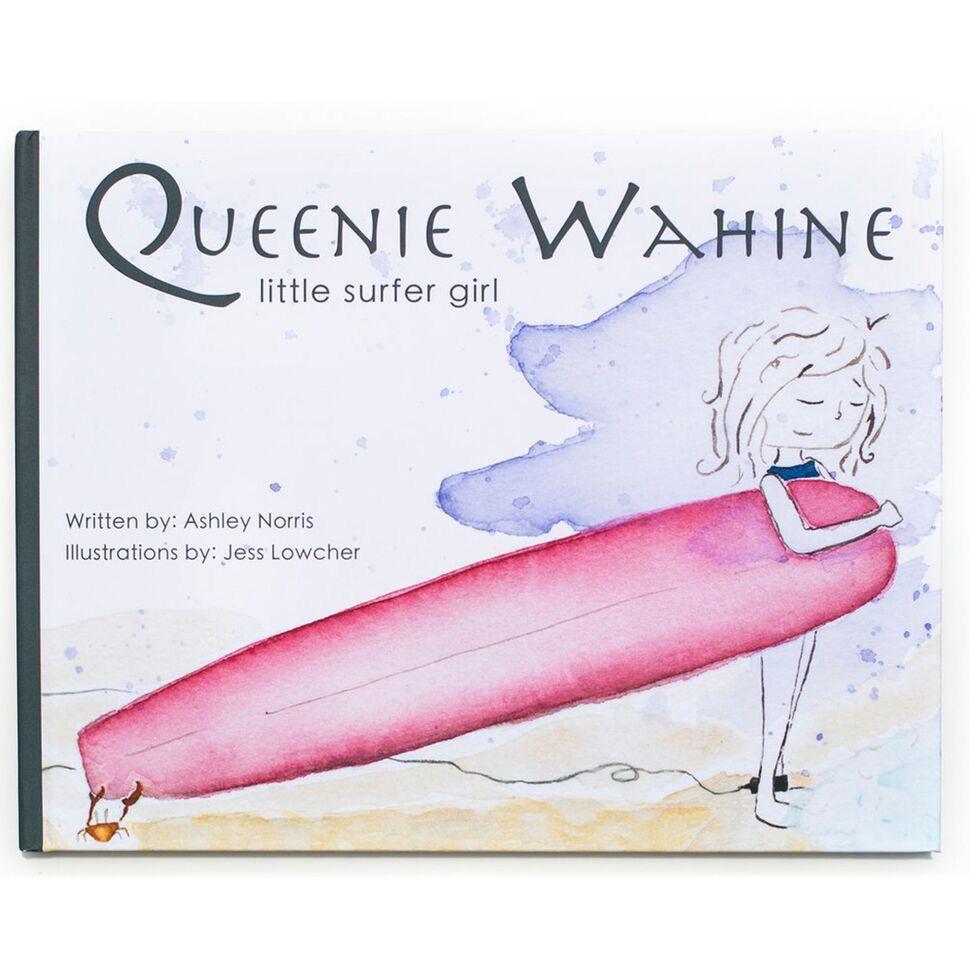 MISC QUEENIE WAHINE: LITTLE SURFER GIRL