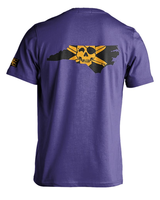Whalebone Logo STATE OF NC OUTLINE WITH GOLD LOGO SHORT SLEEVE TEE
