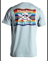 Whalebone Logo MEXICAN BLANKET PREMIUM BLEND SHORT SLEEVE TEE