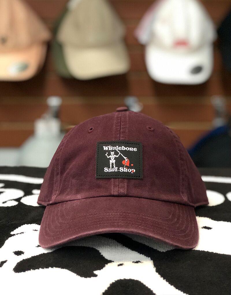 Whalebone Logo LOGO HAT -BLACKBEARD ADJUSTABLE CHINO HAT