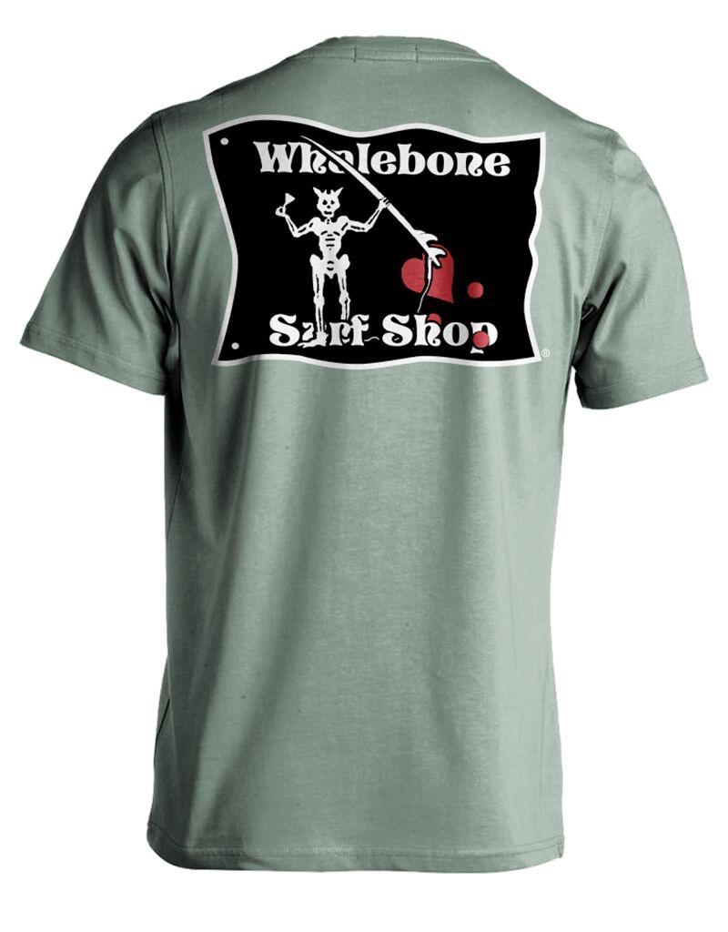Whalebone Logo BLACKBEARD PREMIUM BLEND SHORT SLEEVE TEE