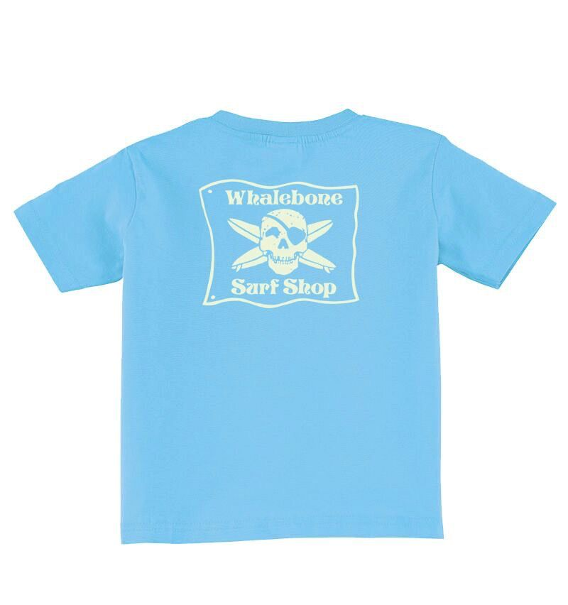 Whalebone Logo BABY+TODDLER WHALEBONE SURF SHOP GLOW SHORT SLEEVE TEE