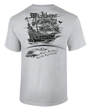 Whalebone Logo AIRSHIP PREMIUM SHORT SLEEVE TEE
